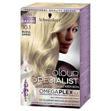 Luxy Bio  10.1 Buzul Sarısı Saç Boyası Sarı